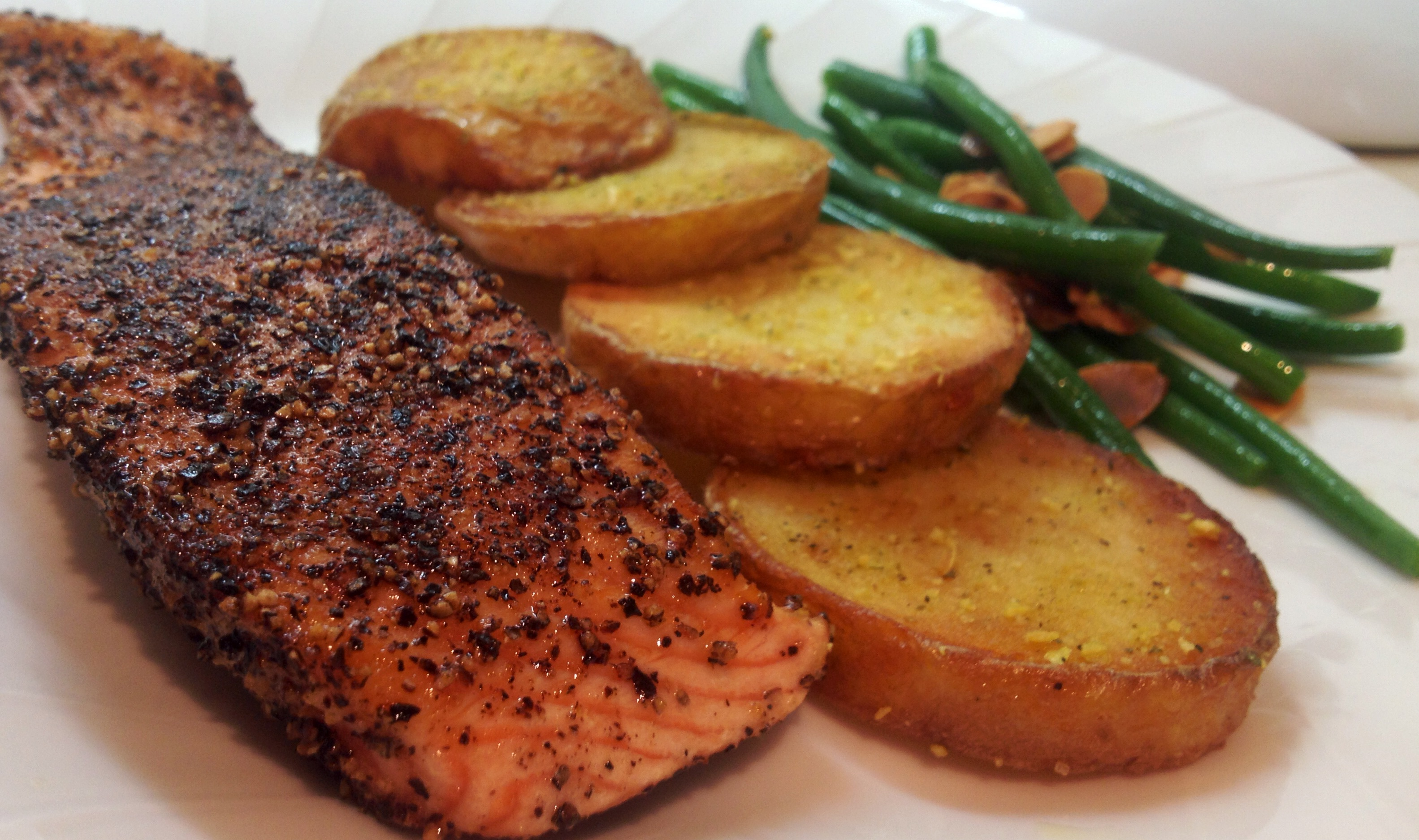 Healthy Salmon Supper