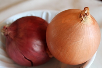 Don't store onions with potatoes