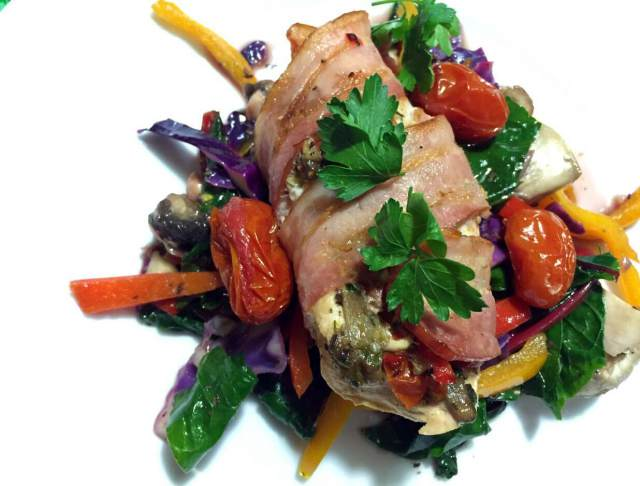 Summer Stuffed Chicken