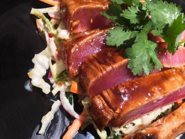 Teriyaki tuna