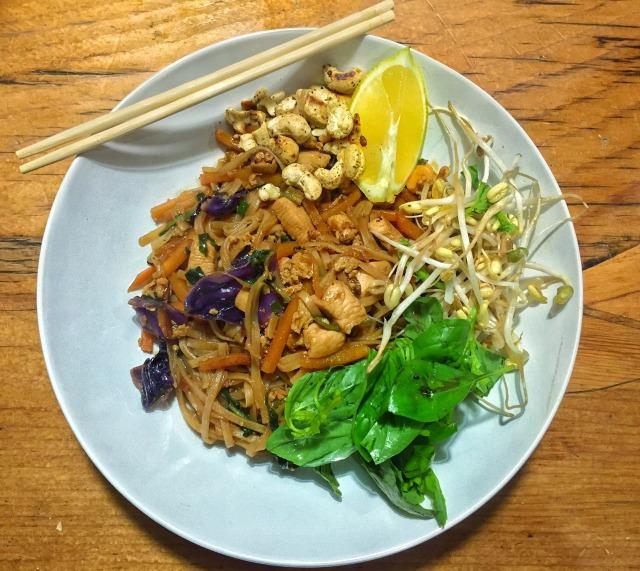 Crunchy Thai Noodles